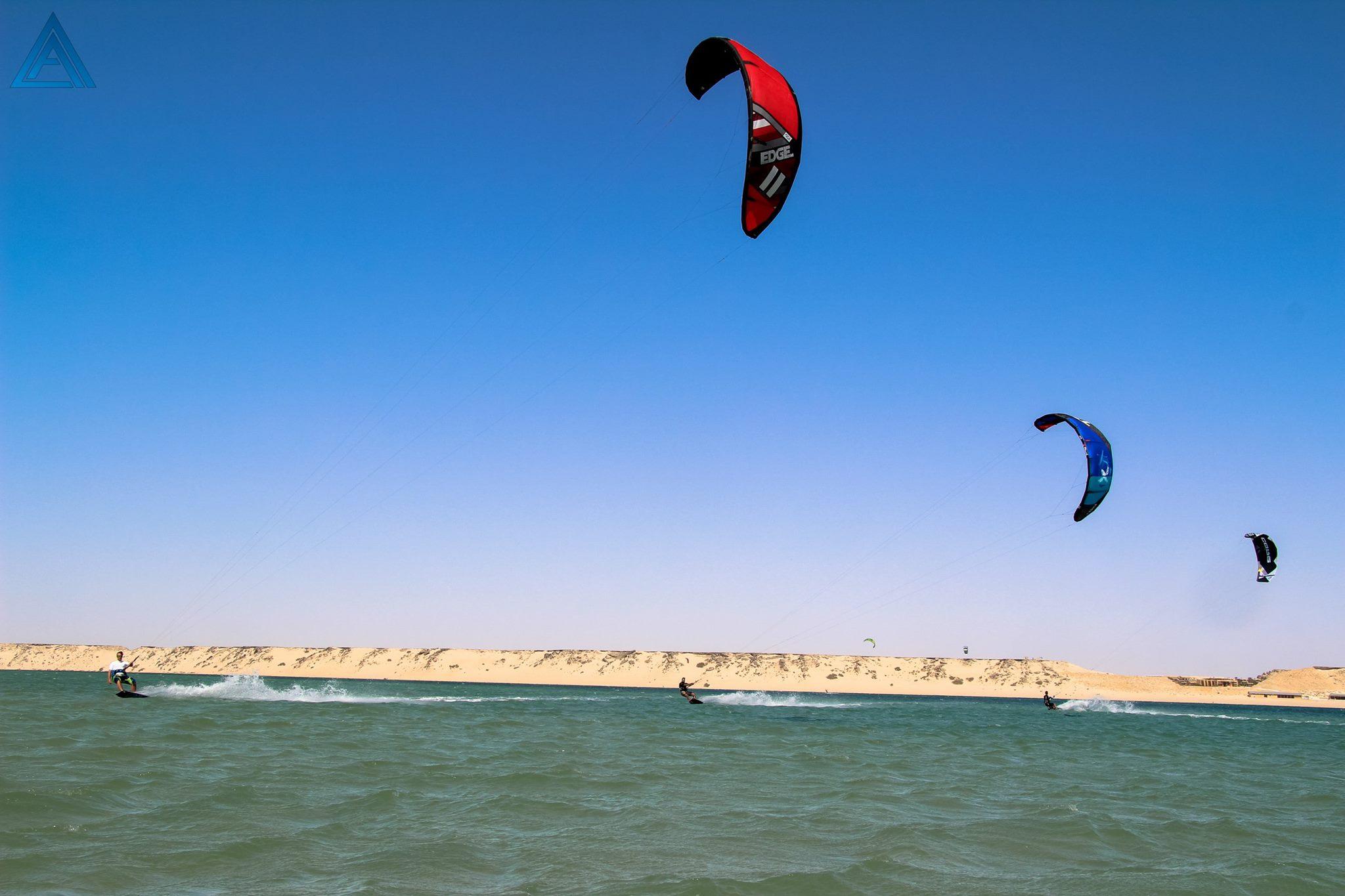 proefles kitesurfen