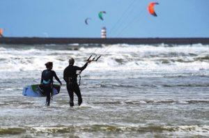 Begeleid kitesurfen